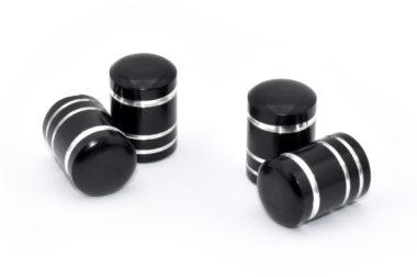 Black Aluminum Valve Caps image
