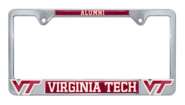 Virginia Tech Alumni 3D License Plate Frame