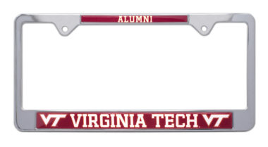 Virginia Tech Alumni License Plate Frame image