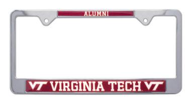 Virginia Tech Alumni License Plate Frame
