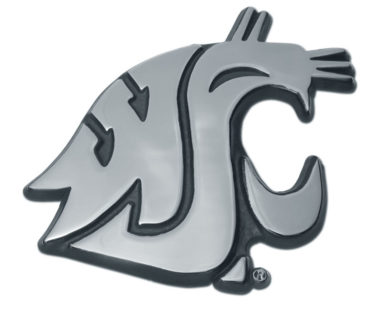 Washington State University Chrome Emblem