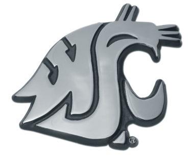 Washington State Chrome Emblem
