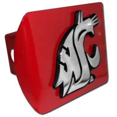 Washington State Red Hitch Cover