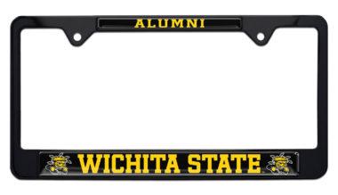 Wichita State Alumni Black License Plate Frame
