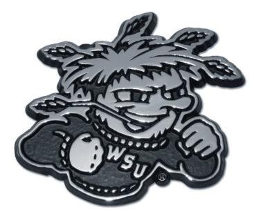 Wichita State Chrome Emblem