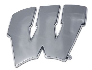 University of Wisconsin Chrome Emblem