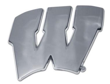 Wisconsin Chrome Emblem