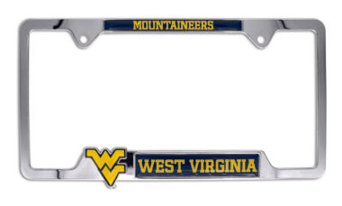 West Virginia 3D Mountaineers License Plate Frame