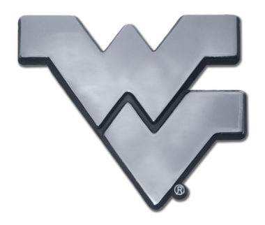 West Virginia University Chrome Emblem