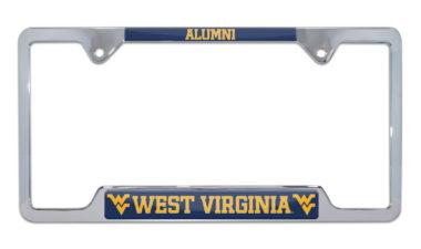 West Virginia Alumni License Plate Frame image