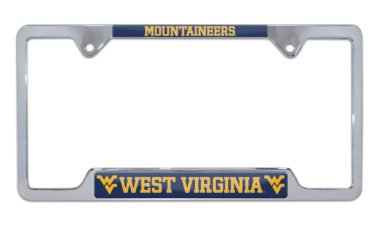 West Virginia Mountaineers License Plate Frame image