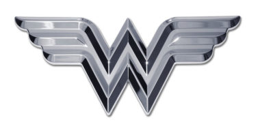 Wonder Woman 3D Chrome Emblem image
