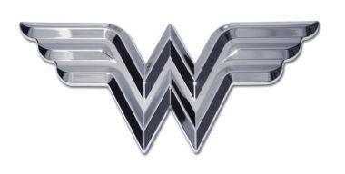 Wonder Woman 3D Chrome Emblem