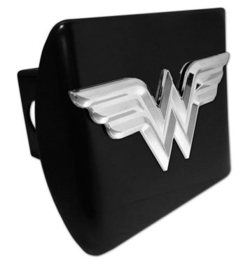 Wonder Woman 3D Emblem on Black Hitch Cover image