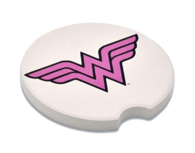 Wonder Woman Car Coaster - 2 Pack