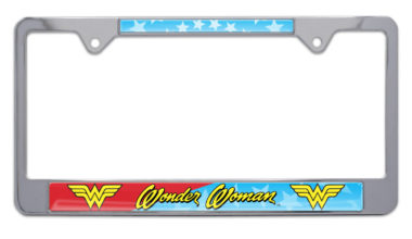 Wonder Woman License Plate Frame image