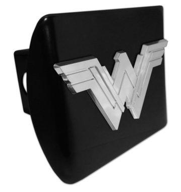 Wonder Woman Emblem on Black Hitch Cover