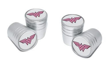 Wonder Woman Valve Stem Caps - Matte Smooth