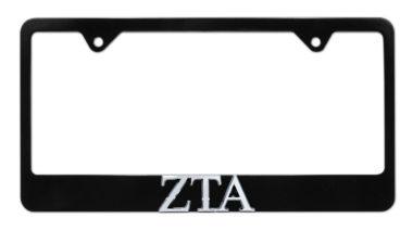 ZTA Black License Plate Frame