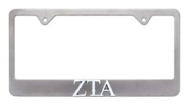 ZTA Matte License Plate Frame