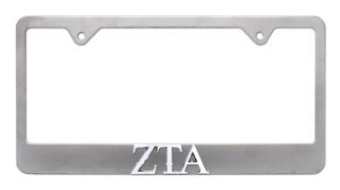ZTA Matte License Plate Frame image