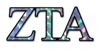 ZTA Reflective Decal  image