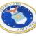 Premium Air Force Seal 3D Decal image 2