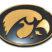 Iowa Gold Plated Emblem image 1