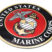 Premium Marine Seal 3D Decal image 2