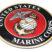 Premium Marine Seal 3D Decal image 2