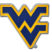 West Virginia University Navy Chrome Emblem image 1